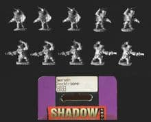 Reaper Miniatures 15mm Fantasy 03033 Dwarven Shocktroopers (x 10 figs)